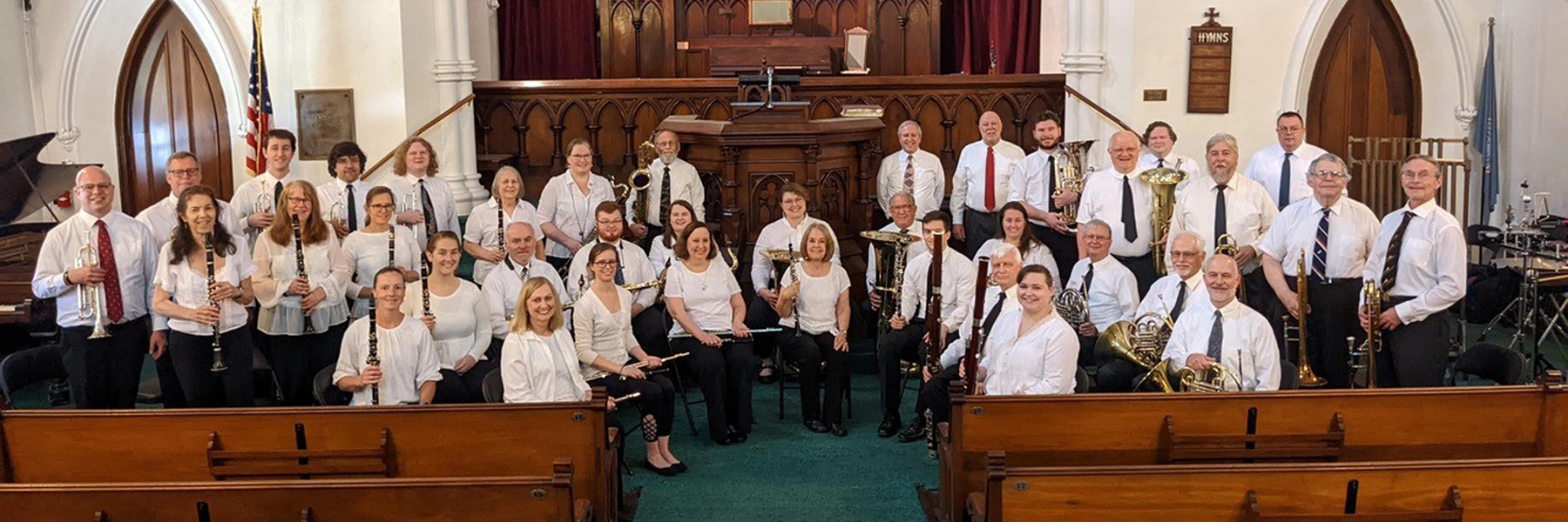 Winchendon Winds in concert